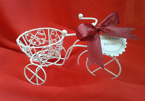 Marturie nunta bicicleta - model 2