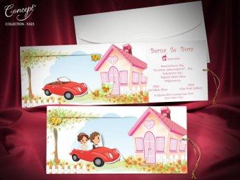 Invitatie nunta cod 5323