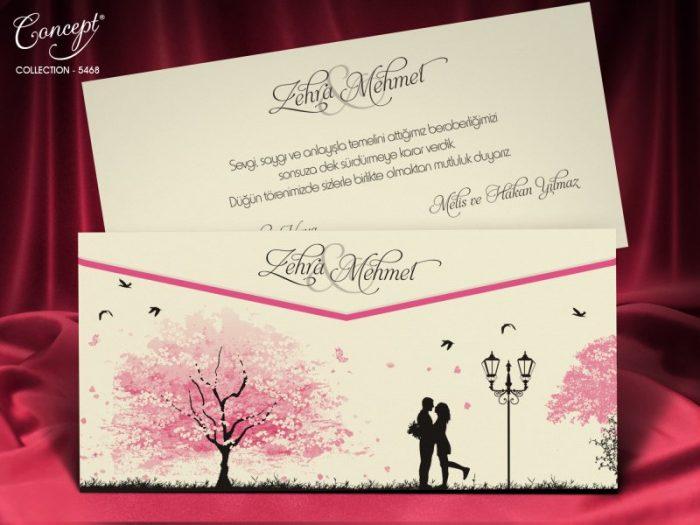 Invitatie nunta cod 5468