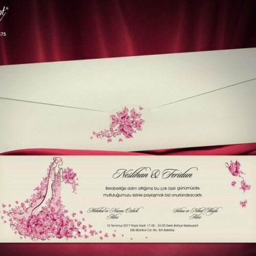 Invitatie nunta cod 5475