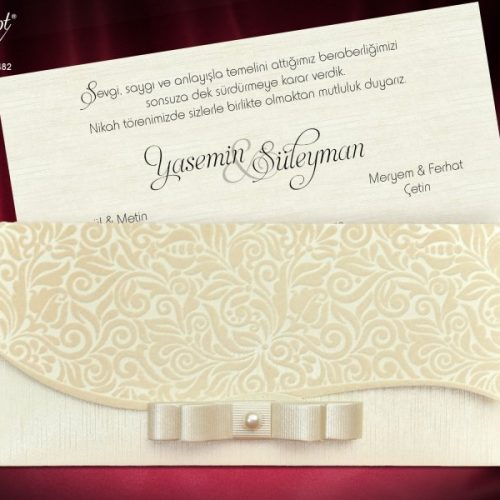 Invitatie nunta cod 5482