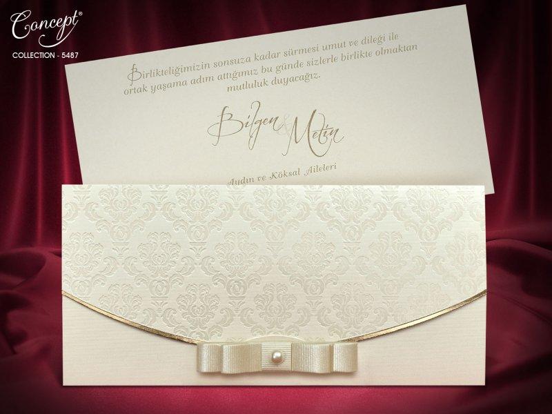 Invitatie nunta cod 5487