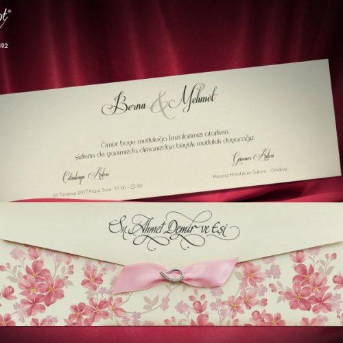 Invitatie nunta cod 5492