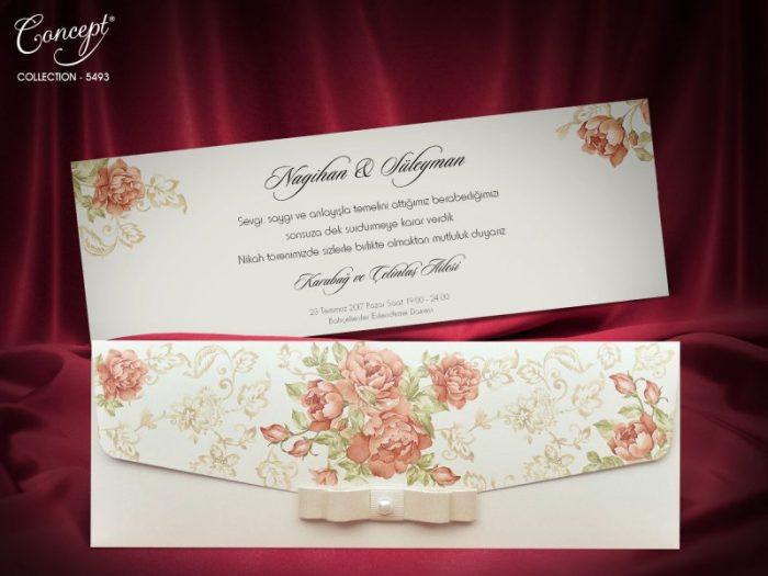 Invitatie nunta cod 5493