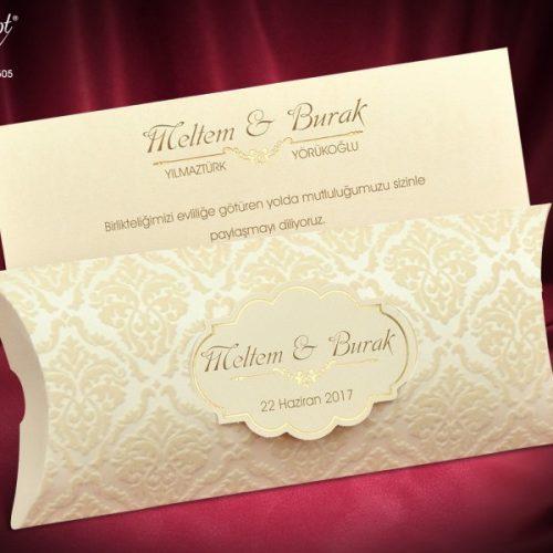 Invitatie nunta cod 5505