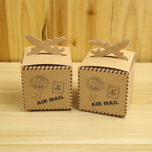 Cutie marturie Air Mail