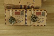 Marturie cutie Air Mail cu sigiliu