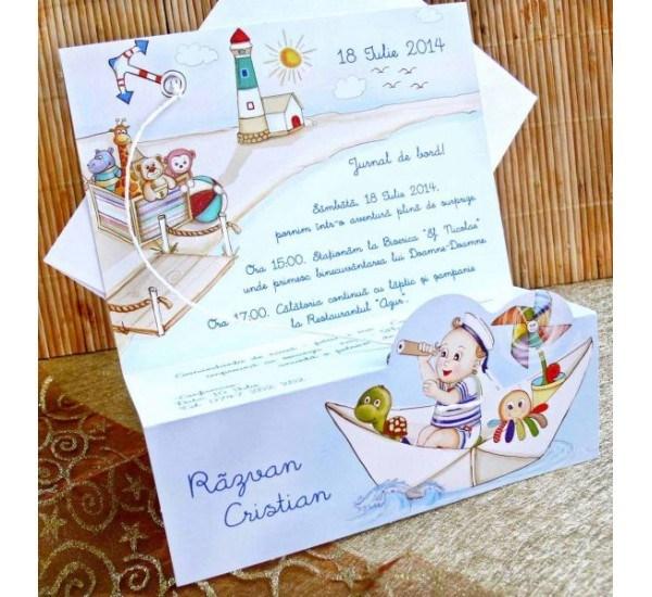 Invitatie botez cod 15308