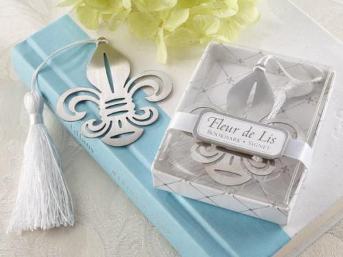 Marturie nunta semn de carte floare de crin