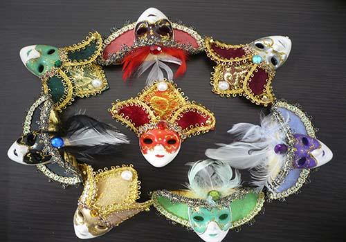 Marturie magnet masca carnaval
