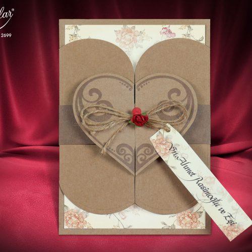Invitatie nunta cod 2699